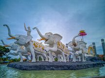 Gajah siwo mergo obrazy stock