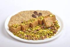 Gajak com frutos secos Imagem de Stock Royalty Free