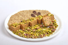 Gajak with dry fruits Royalty Free Stock Image