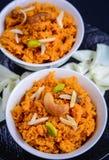 Gajar Halwa. (carrot pudding) Popular Indian sweet Stock Photo