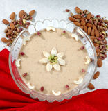 Cashew Kheer Royalty Free Stock Images