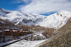 Gajereh village in Iran Stock Photography