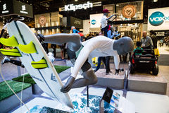 Gajo do surfista em CES imagens de stock royalty free