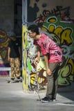 Gajo e grafittis fotos de stock