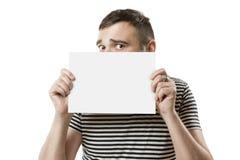 Gajo fresco com o cartão para seu texto imagens de stock