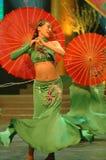 Galà di festival di primavera del Jiangxi del tè verde girl-2007 Fotografia Stock