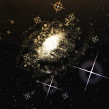 galáxia Imagem de Stock Royalty Free