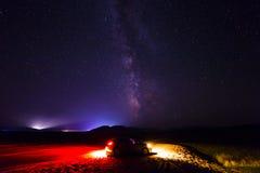 A galáxia Fotografia de Stock Royalty Free