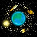 Galáxia Imagens de Stock