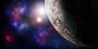 Galáxia além fotografia de stock