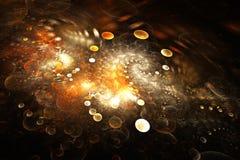 Galáxia brilhante Imagens de Stock