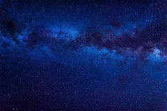 Galáxia da Via Látea foto de stock