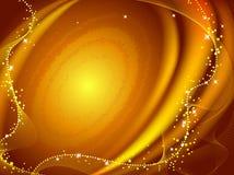 Galáxia dourada Imagem de Stock Royalty Free