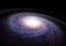Galáxia espiral Fotografia de Stock