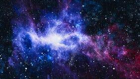 Galáxia espiral no espaço profundo Elementos desta imagem fornecidos pela NASA ilustração do vetor