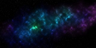 Galáxia estrelado da Via Látea do céu da textura do sumário ilustração stock