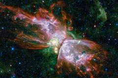 Galáxia impressionante no espaço Starfields do cosmos infinito ilustração royalty free