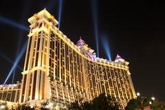 A galáxia Macau é complexo do entretenimento Fotos de Stock