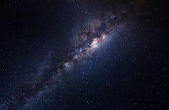 Galáxia no céu foto de stock royalty free