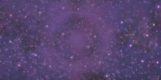 Galáxia roxa Imagem de Stock