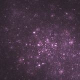 Galáxia roxa do conjunto | Arte do Fractal Fotos de Stock