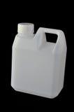 Galão plástico branco quadrado da água Imagens de Stock