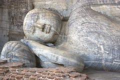 Galão Vihara, Polonnaruwa, Sri Lanka fotos de stock