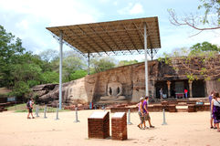 gal świątyni kamienia vihare Fotografia Royalty Free