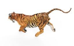 Gal Tiger Isolated op Witte Achtergrond met het Knippen van Weg stock illustratie