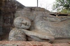 Gal Vihara (Buddha statue) in Polonnaruwa Stock Image