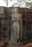Gal Vihara (Buddha statue) in Polonnaruwa Royalty Free Stock Photography