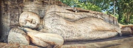 The Gal Vihara. Panorama stock images