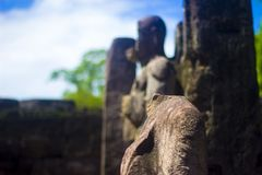 Gal Vihara - Polonnaruwa Шри-Ланка стоковое изображение
