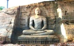 Gal Vihara Polonnaruwa,斯里兰卡 免版税库存图片