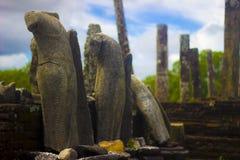 Gal Vihara - Polonnaruwa Sri Lanka fotografía de archivo