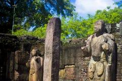 Gal Vihara - Polonnaruwa Sri Lanka imagens de stock