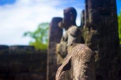 Gal Vihara - Polonnaruwa Sri Lanka image stock
