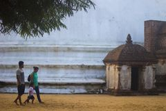 Gal Vihara - Polonnaruwa Sri Lanka fotos de archivo libres de regalías