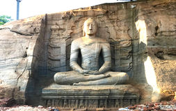 Gal Vihara Polonnaruwa, Sri Lanka Royalty-vrije Stock Afbeeldingen