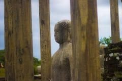 Gal Vihara - Polonnaruwa Sri lanka. The Gal Vihara & x28;Sinhalese: ගල් විහාරය& x29;, also known as Gal Viharaya royalty free stock image