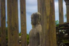 Gal Vihara - Polonnaruwa Sri lanka. The Gal Vihara & x28;Sinhalese: ගල් විහාරය& x29;, also known as Gal Viharaya stock images