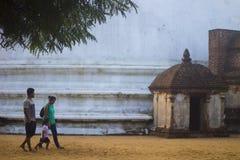 Gal Vihara - Polonnaruwa Sri lanka. The Gal Vihara & x28;Sinhalese: ගල් විහාරය& x29;, also known as Gal Viharaya royalty free stock photos