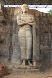 Gal Vihara, statue debout de Bouddha Photos libres de droits
