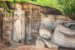 The Gal Vihara. Stock Photos