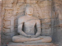 Gal viharaya polonnaruwa sri lanka Zdjęcia Stock