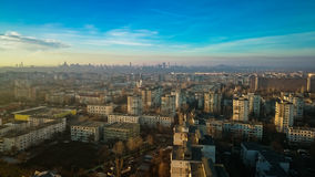 Galati panorama Stock Photography