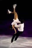 Gala 2010, Milano, Italia de la Navidad del hielo Imagenes de archivo