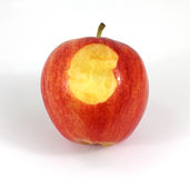 Gala Apple Bite Stock Photos
