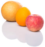 Gala Apples, Asian Pears And Orange II Stock Images