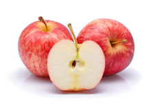 Gala apples Royalty Free Stock Images